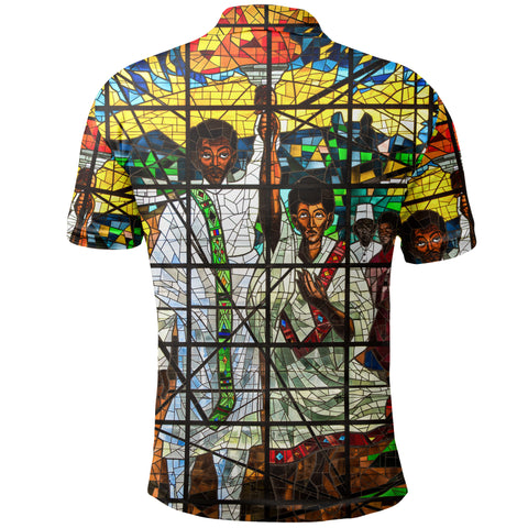 Image of Ethiopia Polo Shirt, Ethiopian Orthodox A10
