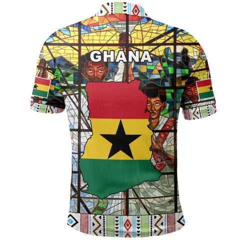 Ghana Polo Shirt Africa Day A10