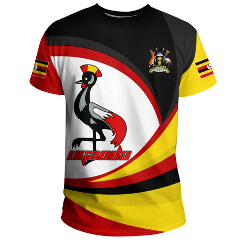 Image of 1stTheWorld Uganda T-shirt, Uganda Strong Flag A10