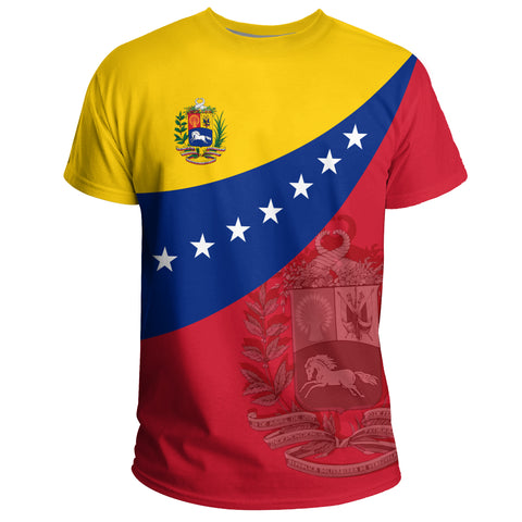 Image of 1sttheworld Venezuela T-shirt Flag Independence Day A10
