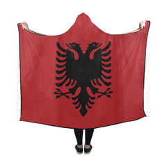 Albania Hooded Blanket NN6