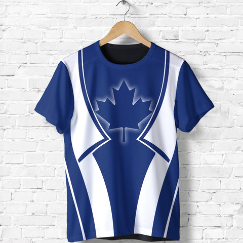 Canada In My Heart Blue T Shirt