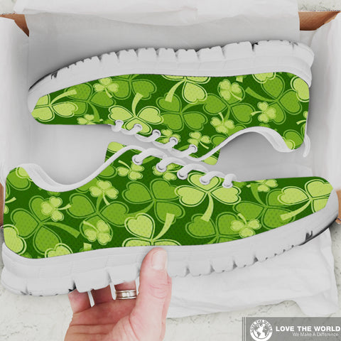 Shamrock Beautiful Garden Women's Sneakers