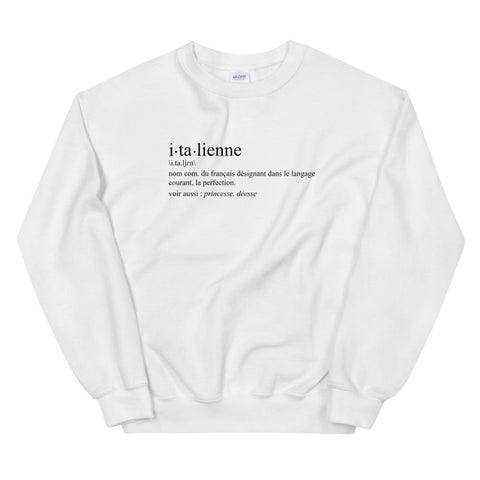 Image of Definition italienne - humour - Sweatshirt