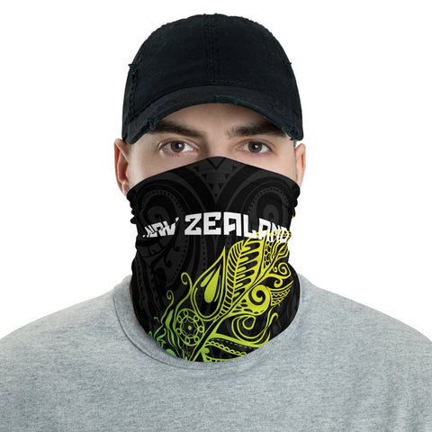 Image of New Zealand Bandana, New Zealand Polinesian Colored Light Fern A10
