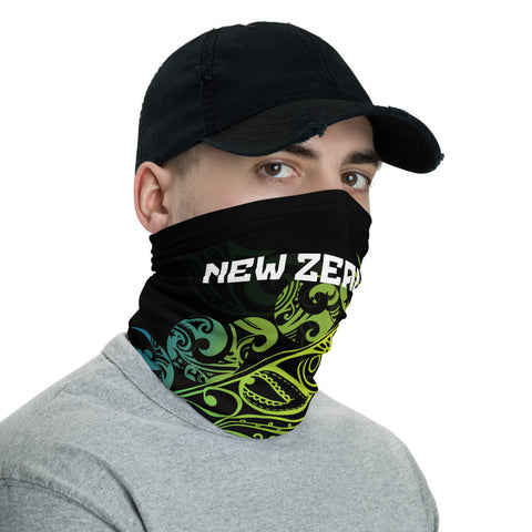 Image of New Zealand Bandana, New Zealand Polinesian Maori Colored Light Fern A10