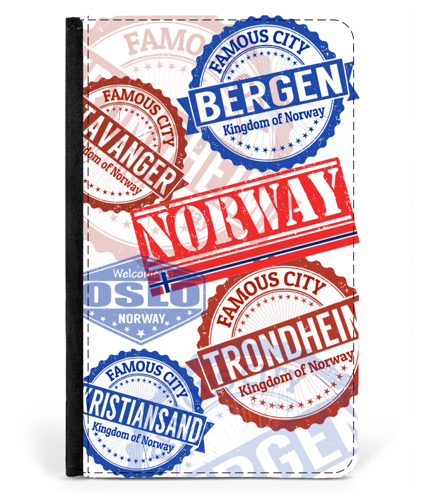 NORWAY STAMPS PASSPORT CASE 01 Th9
