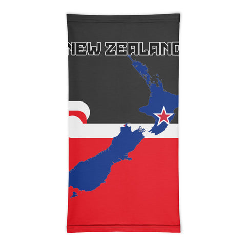 New Zealand Bandana, New Zealand Maps A10
