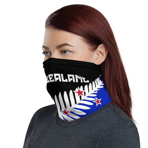 Image of New Zealand Neck Gaiter, New Zealand Silver Fern A10