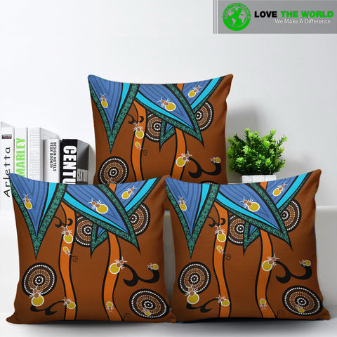 Australia Aboriginal Ants Pillow Covers