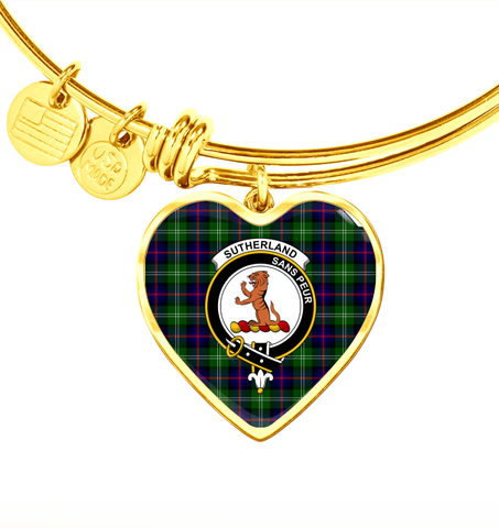 Sutherland Modern Tartan Bangle - BN04