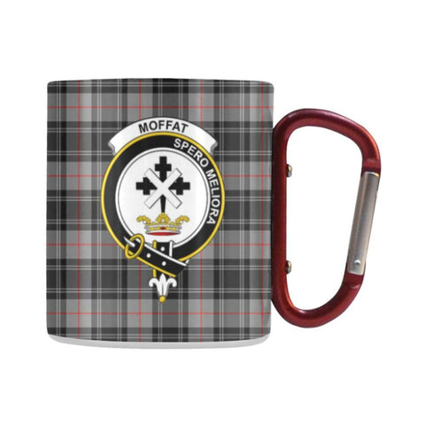 Image of Tartan Mug - Clan Moffat Tartan Insulated Mug A9 | Love The World