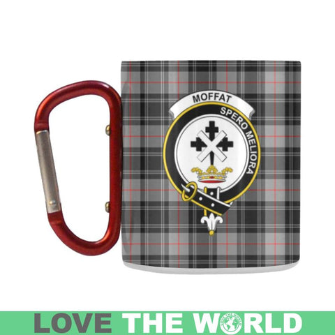 Tartan Mug - Clan Moffat Tartan Insulated Mug A9 | Love The World