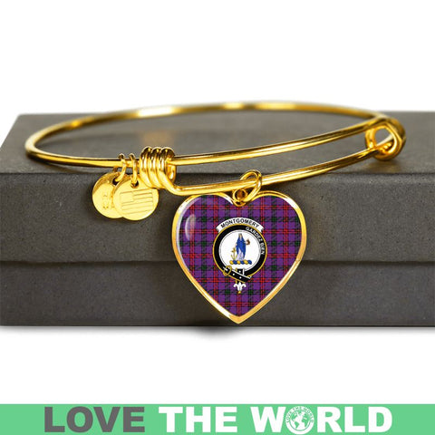 Image of Montgomery Modern Tartan Gold Blange - Tn Jewelries