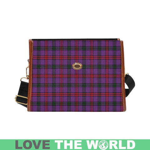 Image of Montgomery Modern Tartan Canvas Bag | Waterproof Bag | Scottish Bag