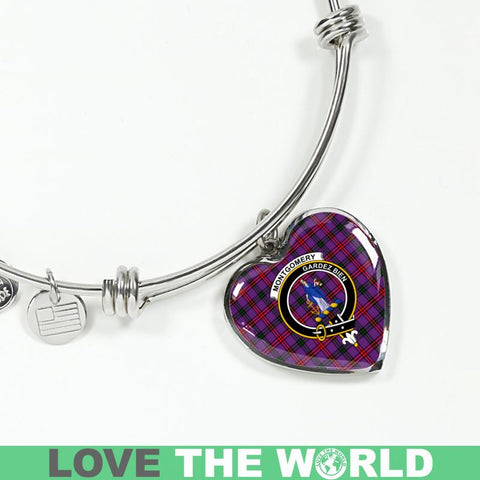 Montgomery Tartan Silver Bangle - Sd1 Jewelries