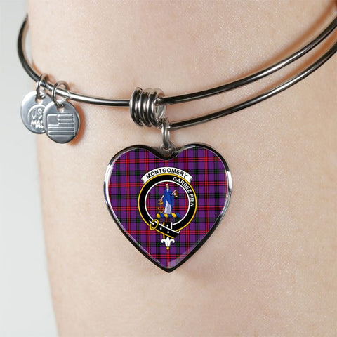 Image of Montgomery Tartan Silver Bangle - Sd1 Jewelries