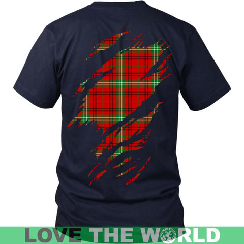 Image of Morrison Modern In Me N T-Shirt Ha8 District Long Sleeve Shirt / Navy S T-Shirts