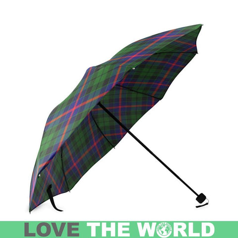 Image of Morrison Modern Tartan Foldable Umbrella Th8 |Accessories| 1sttheworld