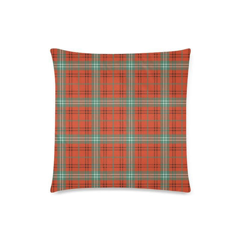 Morrison Red Ancient Tartan Pillow Cases Hj4 One Size / Morrison Red Ancient Back Custom Zippered