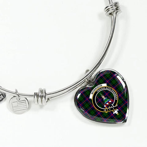 Morrison Tartan Silver Bangle - Sd1 Jewelries