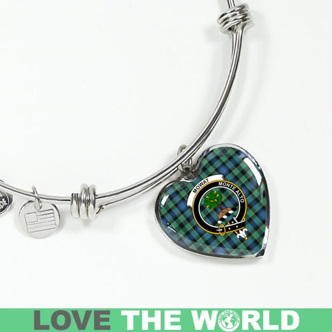 Image of Mowat Tartan Silver Bangle - Sd1 Luxury Bangle (Silver) Jewelries