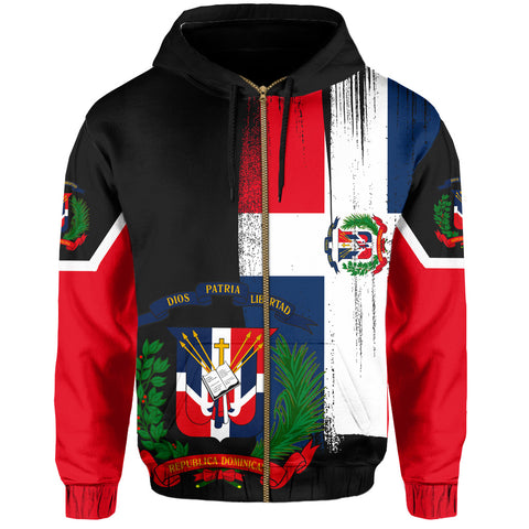 Image of Dominica Hoodie (Zip-up)