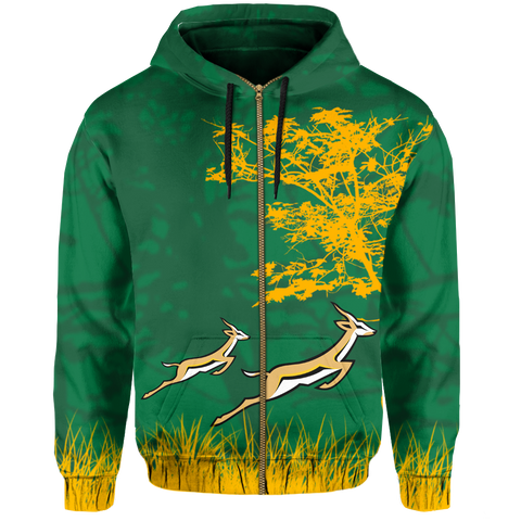 South Africa Hoodie (Zip-up)