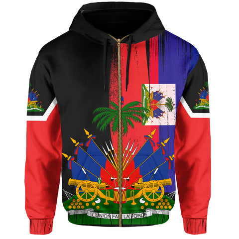 Image of Haiti Hoodie (Zip-up)