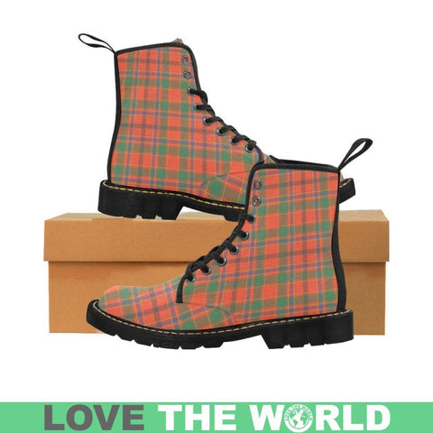 Image of Munro Ancient Tartan Martin Boots | Scotland Boots | Over 500 Tartans