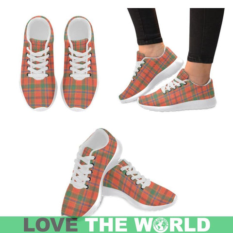 Image of Munro Ancient Tartan Running Shoes Hj4 Us6 / Munro Ancient White Womens Running Shoes (Model 020)