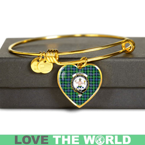 Murray Of Atholl Ancient Tartan Gold Blange - Tn Jewelries