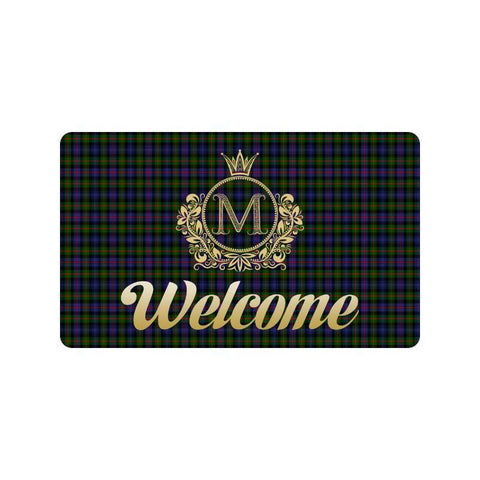 Murray Of Atholl Modern Tartan Doormat HJ4 |Home Set| Love The World