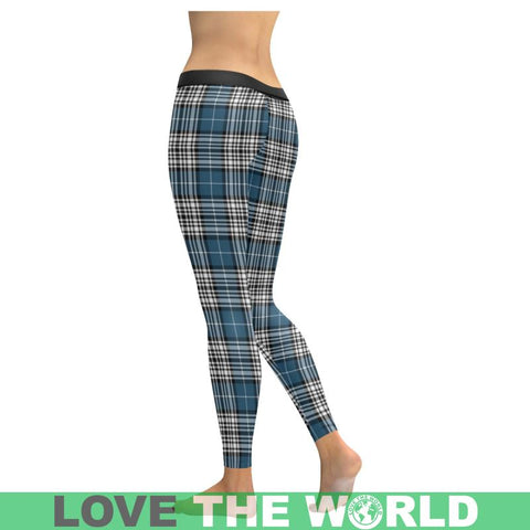 Image of Napier Modern Tartan Legging S1 Low Rise Leggings