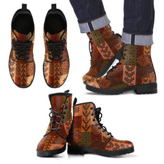 Color Of Native American In Men's/ Women's Leather Boots NN8