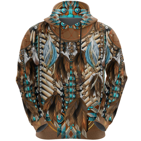 Native American Breastplate Hoodie K8