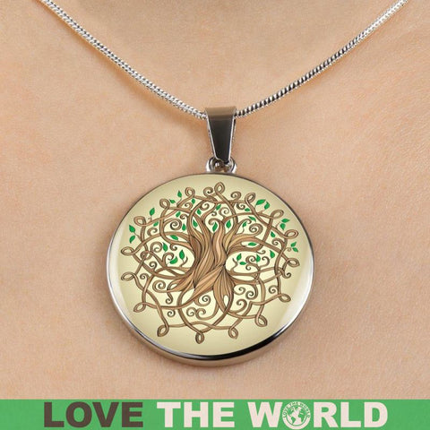 Necklace Celtic Tree Q1 Jewelries