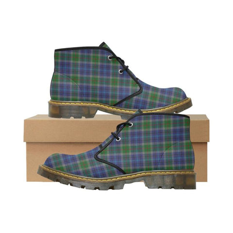 New York City Tartan Nubuck Chukka Boots A0 Us7 / Newyork City Mens Nubuck Chukka Boots (Model 2402)