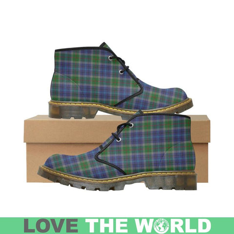 New York City Tartan Nubuck Chukka Boots X1 Us7 / Newyork City Mens Nubuck Chukka Boots (Model 2402)