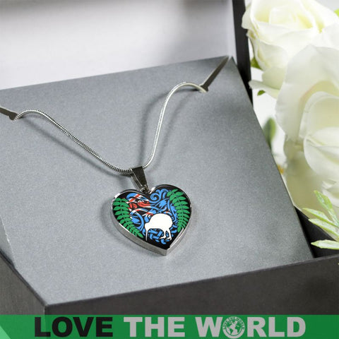 New Zealand Always In My Heart Jewelries S1 Luxury Necklace (Silver)
