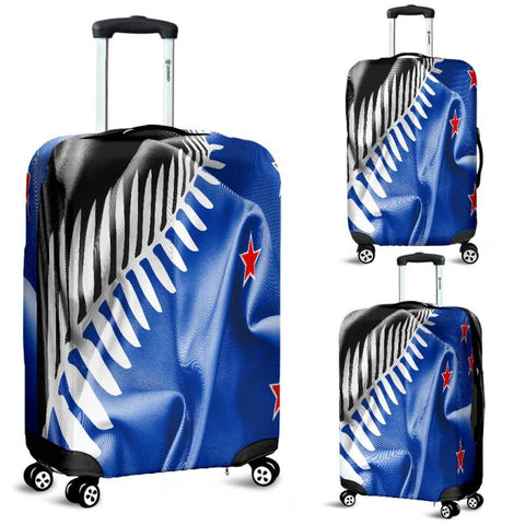 New Zealand Flag Luggage Covers - Hm1 Luggage Covers Blue / Small 18 -22 In 45-55 Cm