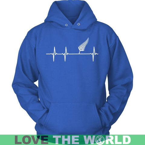 New Zealand Is Always In My Heartbeat A9 District Unisex Shirt / Royal Blue S T-Shirts