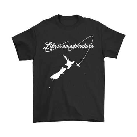 Image of New Zealand - Life Is An Adventure T Shirt H4
