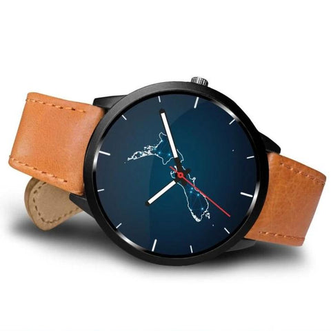 Image of New Zealand Watch - New Zealand Map K5 |Men and Women| 1sttheworld