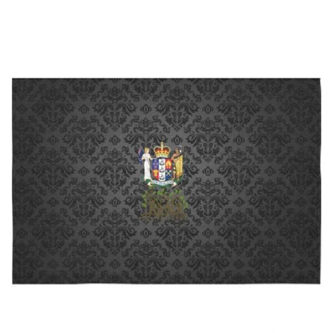 New Zealand Root Coat Of Arms Tablecloth W8 Tablecloths