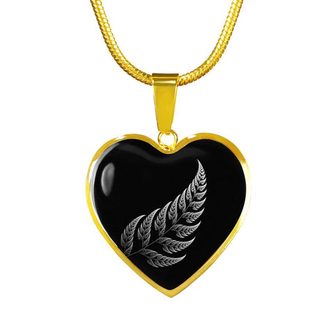 New Zealand Silver Fern 3 Golden Jewelries H21 Luxury Adjustable Necklace