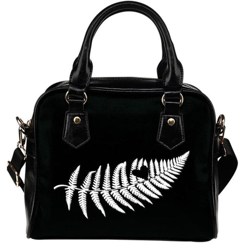 New Zealand-Silver Fern Shoulder Handbags D7
