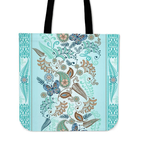 New Zealand - Silver Fern Tote Bag H4 Bags