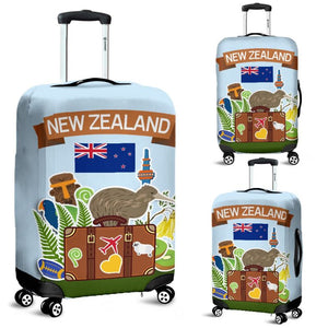 New Zealand Travel Luggage Cover A1 Covers