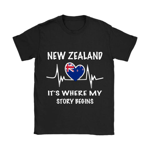 New Zealand Where My Story Begins H4